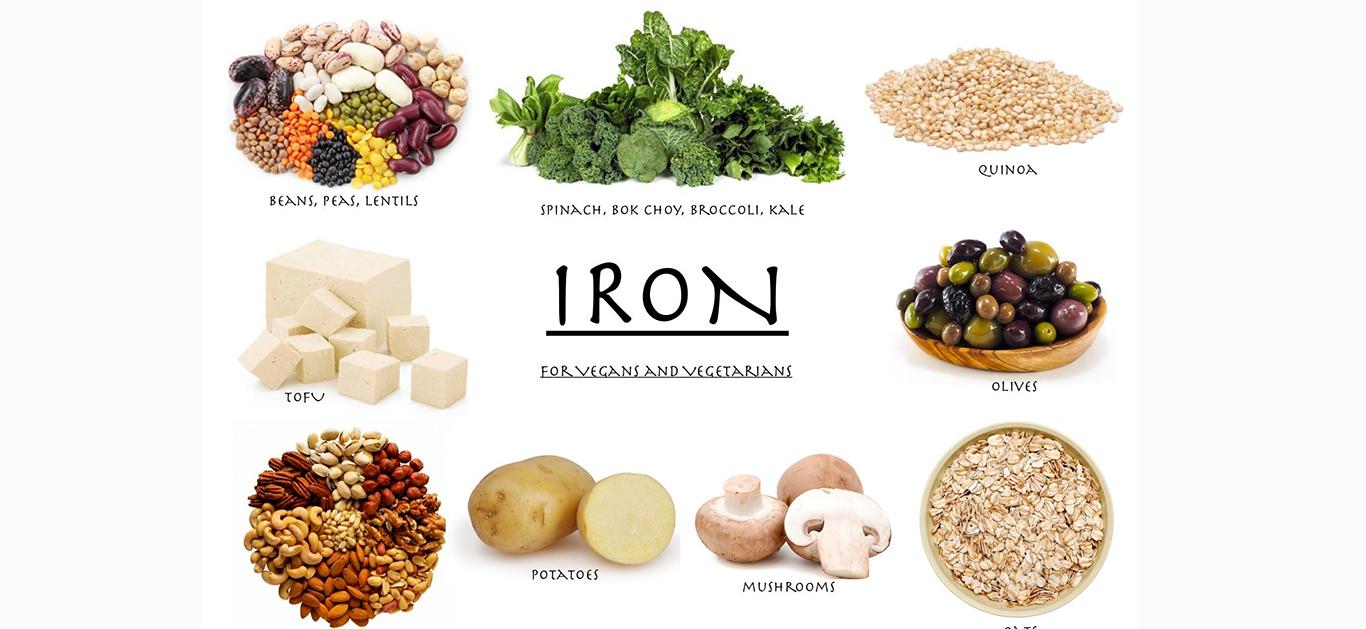 10 φυτικές τροφές πλούσιες σε Σίδηρο