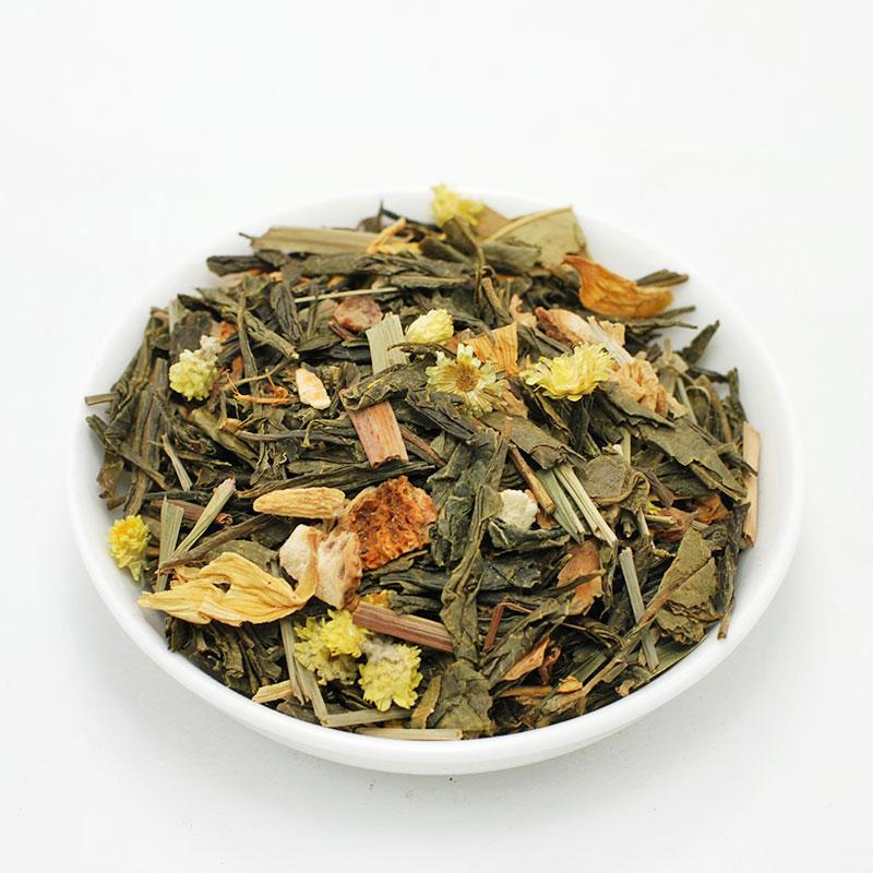ΕΝΕΡΓΕΙΑΚΟ ΤΣΑΙ, πράσινο τσάι Κίνας, με  λεμονόχορτο & τζΊνσενγκ