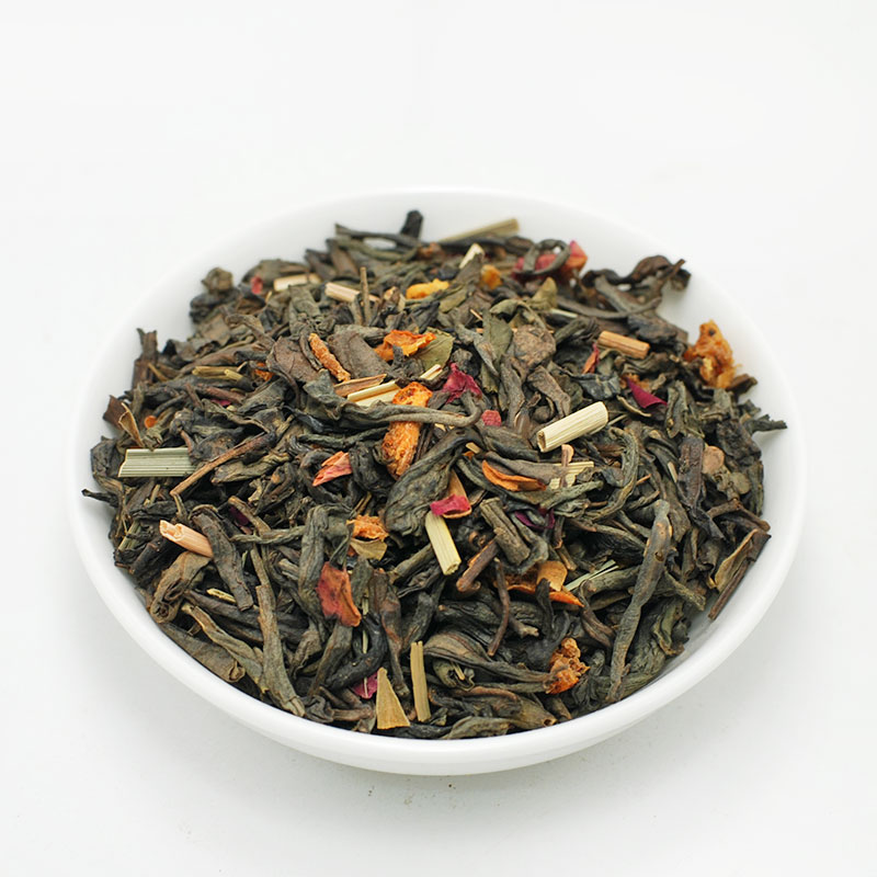 ΦΡΑΟΥΛΑ ΠΟΡΤΟΚΑΛΙ, πράσινο τσάι Κίνας