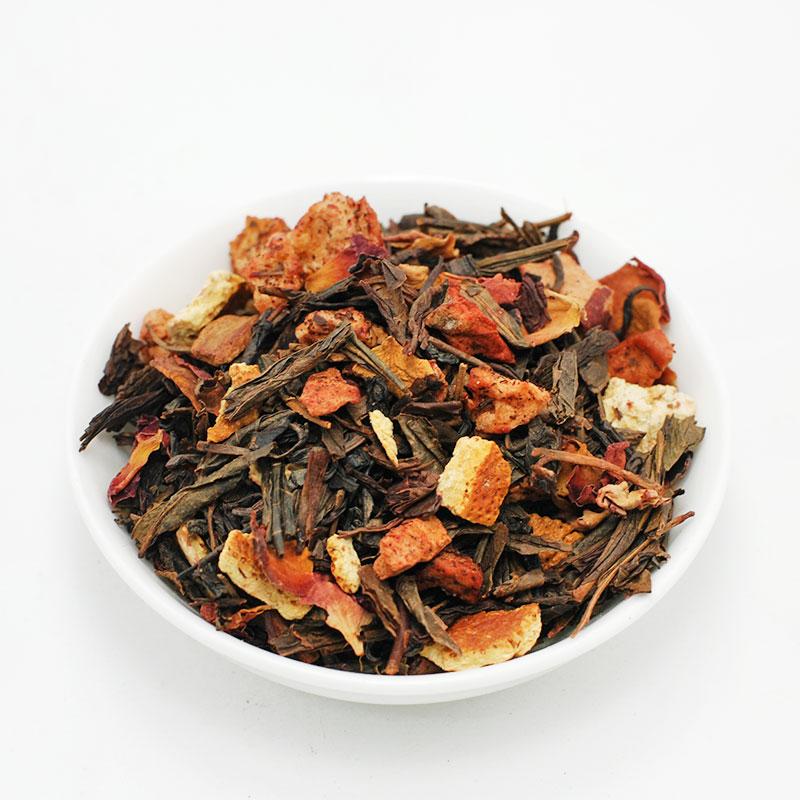 ΦΘΙΝΟΠΩΡΙΝΟ, πράσινο τσάι Κίνας  με μήλο-κανέλλα