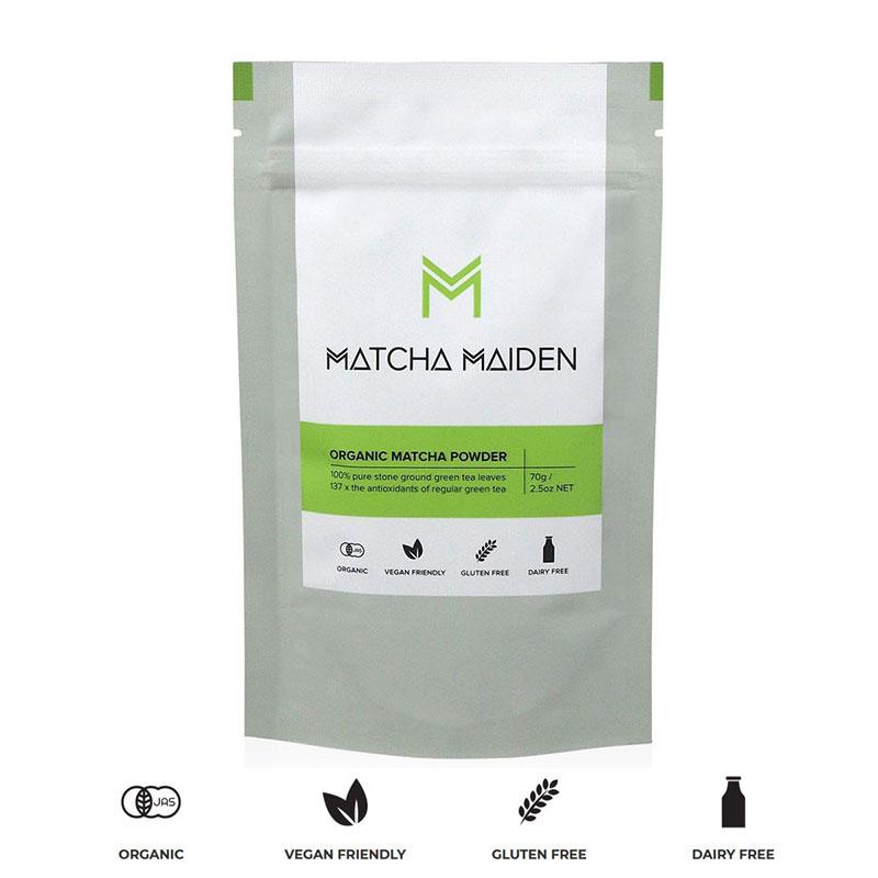 Matcha Maiden -  Oργανικό τσάι πιστοποιημένου αυθεντικού Μάτσα 70γρ.