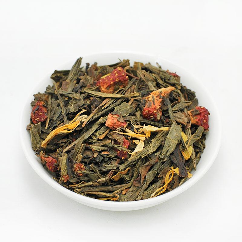 ΡΟΜΑΝΤΙΣΜΟΣ, πράσινο τσάι Κίνας, με βανίλια & φράουλα