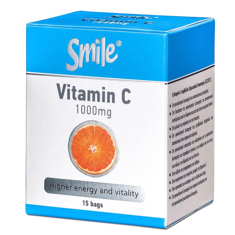 BITAMINH C -Smile  - 15 sachs 1000mg