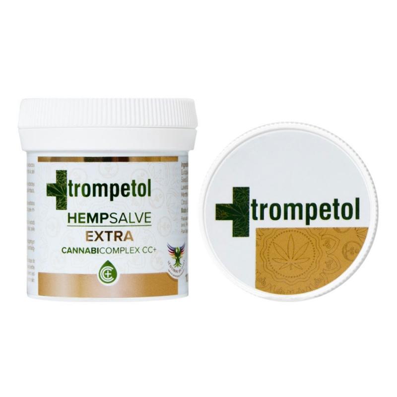 Trompetol Hemp Salve Extra - αλοιφή με εκχύλισμα Κάνναβης - 100ml